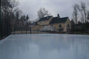 sport court ice rink