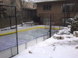 create a backyard ice rink