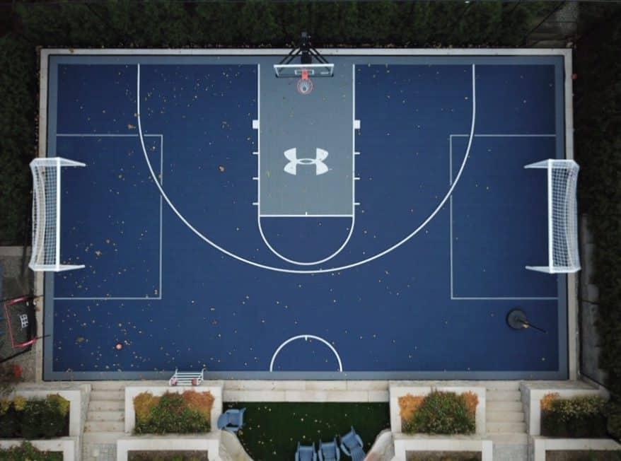 artificial sports floor
