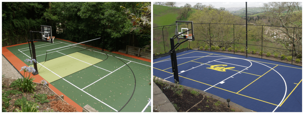 Color And Design For Your Sport Court, Outdoor Basketball Court Lines Paint