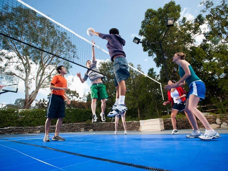 volleyball sport court
