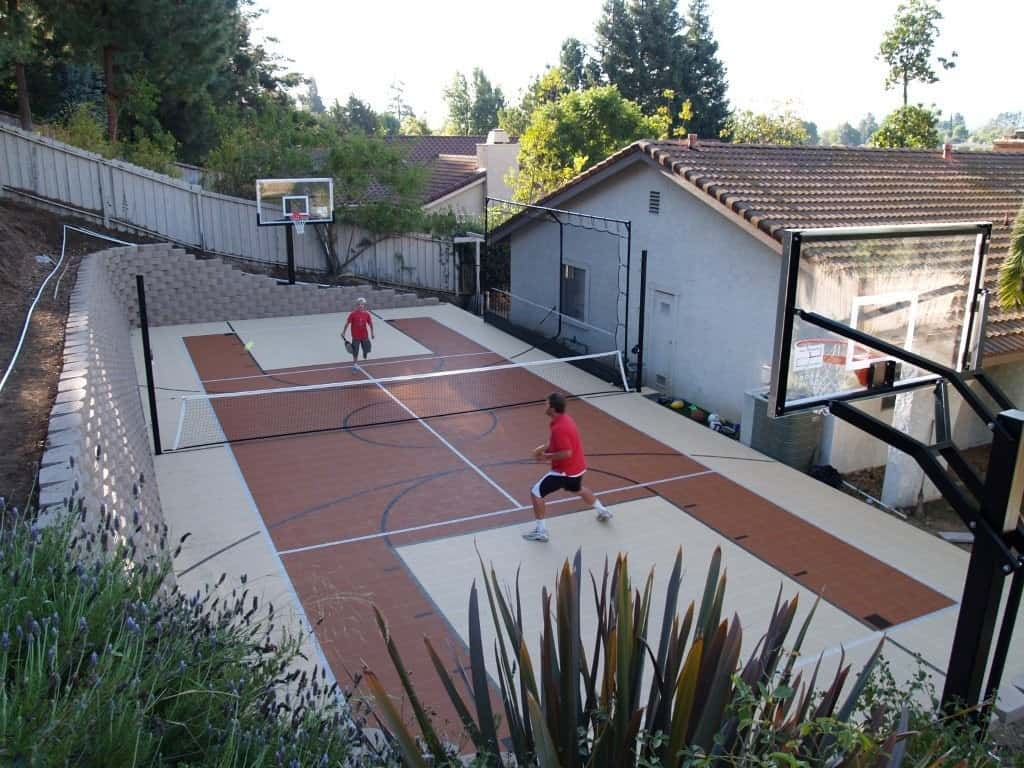 play multiple sports on game court