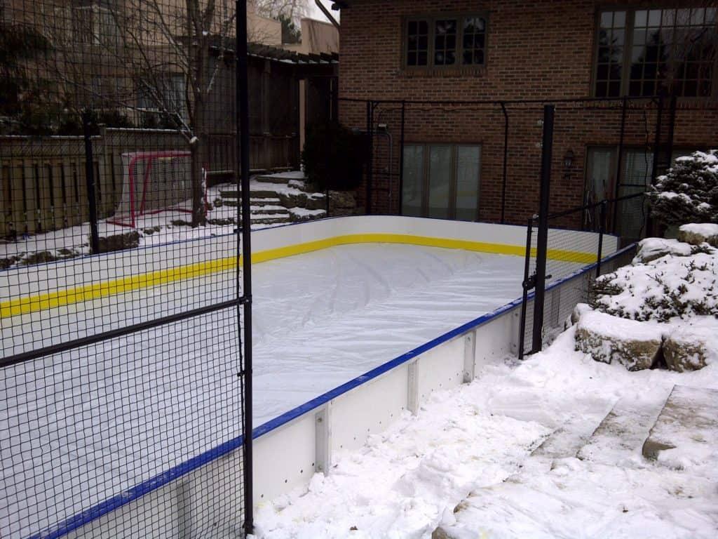sport court ice skating