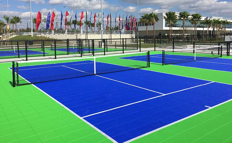 pop tennis sport court